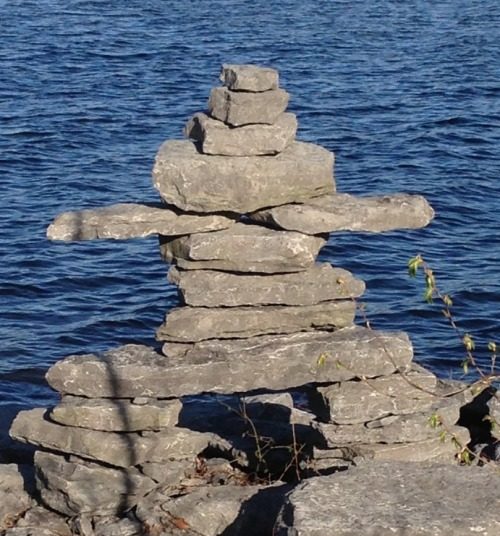 """The word Inukshuk means """"to act in the capacity of a human."""""""